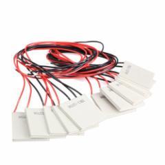 Vktech TEC1-12706 半導体熱電 クーラー ペルチェ タブレット DC12V 6A 10枚セットmmk-f91【8〜12日発送】