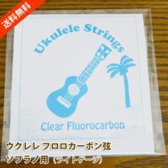 ウクレレ弦 ソプラノ用 フロロカーボン弦 ハワイアン・コア オリジナル ポッキリ1000円