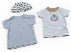 【カーターズ/Carters】Tシャツ&カットソー 50サイズ 男の子【USED子供服・ベビー服】(48344)