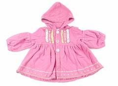 【ママズ&パパズ/Mamas & Papas】パーカー 70サイズ 女の子【USED子供服・ベビー服】(50915)