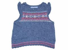 【ファミリア/familiar】ニット 80サイズ 女の子【USED子供服・ベビー服】(56942)