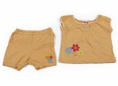 【ミキハウス/miki HOUSE】上下セット 80サイズ 女の子【USED子供服・ベビー服】(63187)