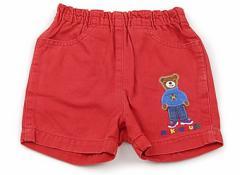 【ミキハウス/miki HOUSE】ショートパンツ 80サイズ【USED子供服・ベビー服】(67724)