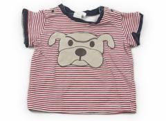 【マザウェイズ/motherways】Tシャツ・カットソー 70サイズ 女の子【USED子供服・ベビー服】(67808)