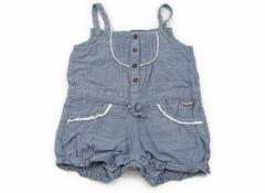 【ビケット/Biquette】カバーオール 90サイズ 女の子【USED子供服・ベビー服】(68684)