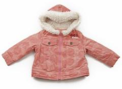 【エーアーベー/e.a.B】コート・ジャンパー 80サイズ 女の子【USED子供服・ベビー服】(69511)