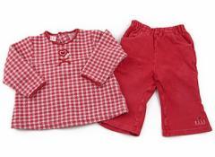 【エル/ELLE】上下セット 80サイズ 女の子【USED子供服・ベビー服】(70486)