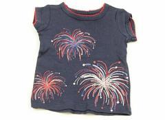 【カーターズ/Carters】Tシャツ・カットソー 50サイズ 女の子【USED子供服・ベビー服】(71185)