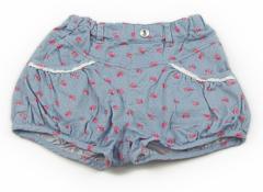 【ハッシュアッシュ/HusHush】ショートパンツ 130サイズ 女の子【USED子供服・ベビー服】(71738)