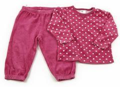 【エイチアンドエム/H&M】上下セット 80サイズ 女の子【USED子供服・ベビー服】(72003)