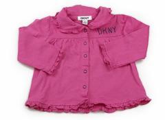 【ダナキャラン/DKNY】Tシャツ・カットソー 70サイズ 女の子【USED子供服・ベビー服】(76178)