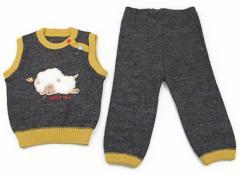 【フーセンウサギ/Fusen Usagi】上下セット 90サイズ 男の子【USED子供服・ベビー服】(76212)