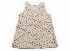 【ブランシェス/BRANSHES】タンクトップ・キャミソール 90サイズ 女の子【USED子供服・ベビー服】(76231)