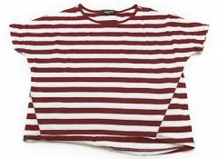 【コムサイズム/COMME CA ISM】Tシャツ・カットソー 130サイズ 女の子【USED子供服・ベビー服】(76264)