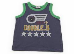 【ダブルB/Double B】タンクトップ・キャミソール 90サイズ 男の子【USED子供服・ベビー服】(77130)