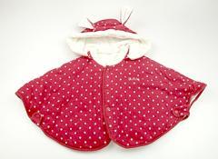 【キムラタン/Kimuratan】ポンチョ 50サイズ 女の子【USED子供服・ベビー服】(78144)
