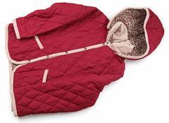 【アーベーベー/a.v.v】コート・ジャンパー 140サイズ 女の子【USED子供服・ベビー服】(78463)