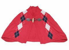 【コムサイズム/COMME CA ISM】ポンチョ 60サイズ 女の子【USED子供服・ベビー服】(78656)