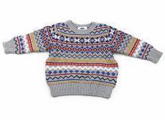 【オールドネイビー/OLDNAVY】ニット 90サイズ 男の子【USED子供服・ベビー服】(79076)