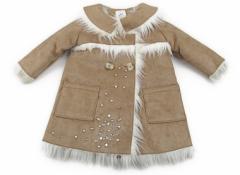 【シャラビア/CHARABIA】コート・ジャンパー 80サイズ 女の子【USED子供服・ベビー服】(80404)