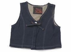 【フーセンウサギ/Fusen Usagi】ベスト 120サイズ 女の子【USED子供服・ベビー服】(80520)