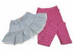 【FOインターナショナル/F.O.International】スカート 130サイズ 女の子【USED子供服・ベビー服】(81015)