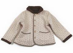 【フーセンウサギ/Fusen Usagi】コート・ジャンパー 130サイズ 女の子【USED子供服・ベビー服】(81041)