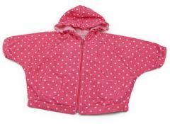 【べべ/BeBe】パーカー 70サイズ 女の子【USED子供服・ベビー服】(81200)