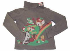 【グラグラ/Grand Ground】Tシャツ・カットソー 120サイズ 女の子【USED子供服・ベビー服】(81879)