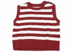 【コムサデモード/COMME CA DU MODE】ベスト 80サイズ 女の子【USED子供服・ベビー服】(81999)