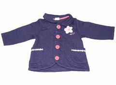 【ムージョンジョン/Moujonjon】コート・ジャンパー 80サイズ 女の子【USED子供服・ベビー服】(82504)