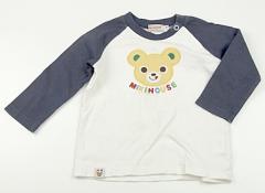 【ミキハウス/miki HOUSE】Tシャツ・カットソー 70サイズ 男の子【USED子供服・ベビー服】(82534)