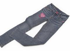 【国内ブランド/Domestic】ジーンズ 130サイズ 女の子【USED子供服・ベビー服】(82652)