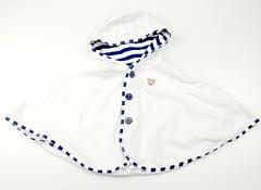 【ミキハウス/miki HOUSE】ポンチョ 70サイズ 男の子【USED子供服・ベビー服】(82883)