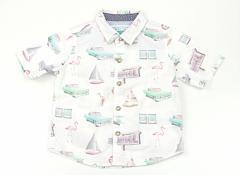 【ネクスト/NEXT】シャツ・ブラウス 70サイズ 男の子【USED子供服・ベビー服】(82944)