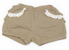 【ブランシェス/BRANSHES】ショートパンツ 90サイズ 女の子【USED子供服・ベビー服】(82994)