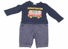 【ムージョンジョン/Moujonjon】カバーオール 80サイズ 男の子【USED子供服・ベビー服】(83126)