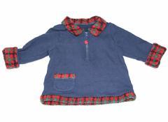 【ファミリア/familiar】トレーナー・プルオーバー 70サイズ 女の子【USED子供服・ベビー服】(83271)