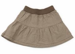 【無印良品/MUJI】スカート 80サイズ 女の子【USED子供服・ベビー服】(83731)