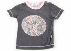 【クラエセンス/claesens】Tシャツ&カットソー 50サイズ 女の子【USED子供服・ベビー服】(15670)