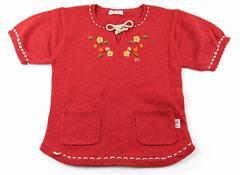【パーソンズ/PERSONS】ニット&カーディガン 130サイズ 女の子【USED子供服・ベビー服】(24892)