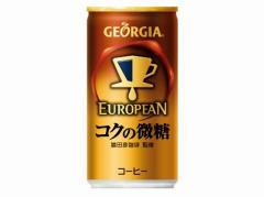 コカコーラ コカ・コーラ ジョージアヨーロピアン コクの微糖 185g x30 4902102108171