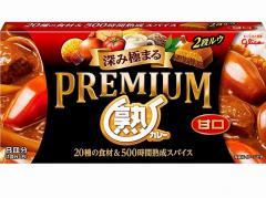 グリコ  プレミアム熟カレー 甘口 160g x10 4901005202306
