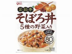 グリコ  菜彩亭 そぼろ丼 140g x10 4901005229969