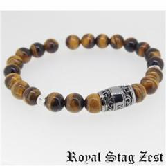 sbr25-002 Royal Stag ZEST(ロイヤル・スタッグ・ゼスト) 天然石数珠ブレスレット・パワーストーンブレスレット メンズ