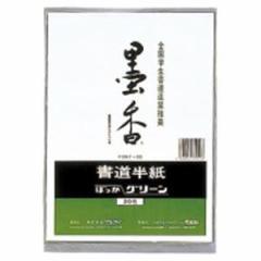 (業務用200セット) マルアイ 墨香半紙 P20タ-22 グリーン 20枚