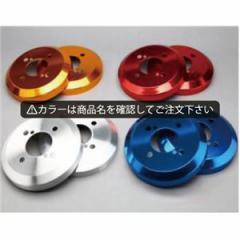 キャリイ DA63T/DA65T アルミ ハブ/ドラムカバー リアのみ カラー:鏡面ブルー シルクロード DCS-009