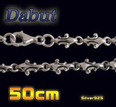 【DB】ユリのチェーン(1)50cm/4LILYシルバー925送料無料