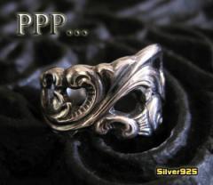 PPP…スプーンリング(2)18号フリーサイズ/(新商品9月から)【メイン】指輪シルバー925銀送料無料