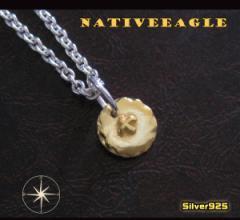 ネイティブペンダント(11)G/(メイン)シルバー925銀ネックレス鳥・動物送料無料